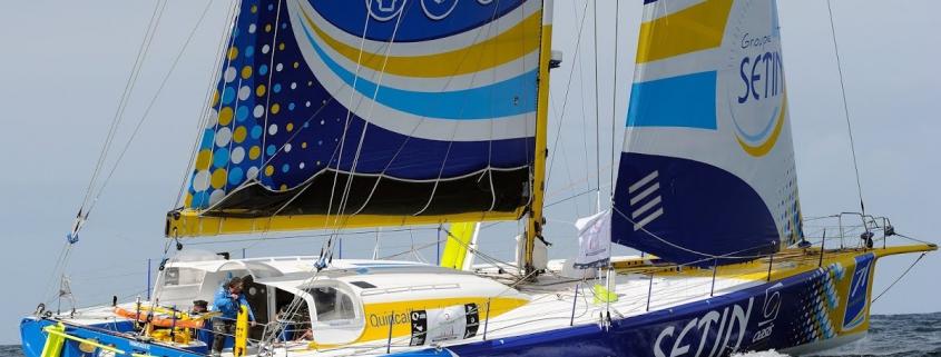 Manuel Cousin et Alan Roura en duo sur Groupe Sétin pour la Monaco Globe Series, départ le 3 juin