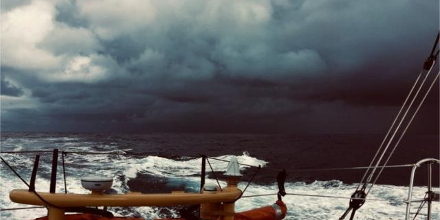 Route du Rhum. Le skipper sablais Manu Cousin remporte le Prix de la meilleure photo. Sport